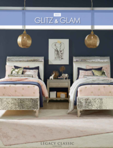Kinderzimmer Glitz & Glam